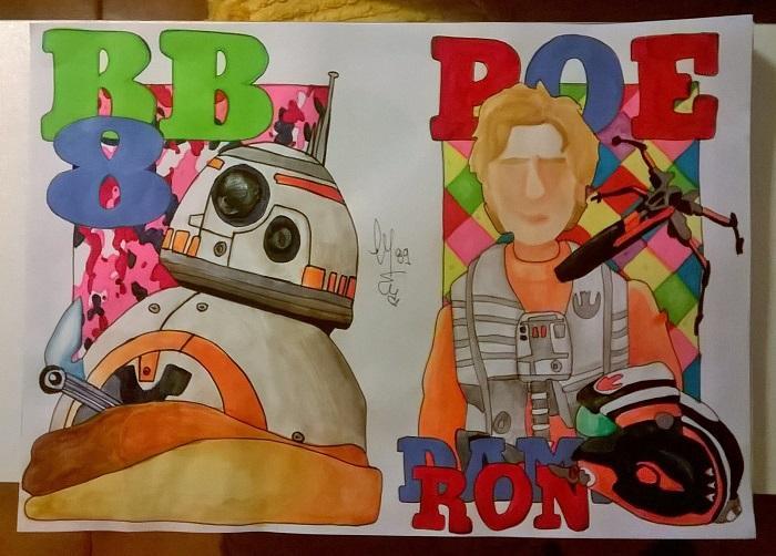 BB-8 & Poe Dameron
