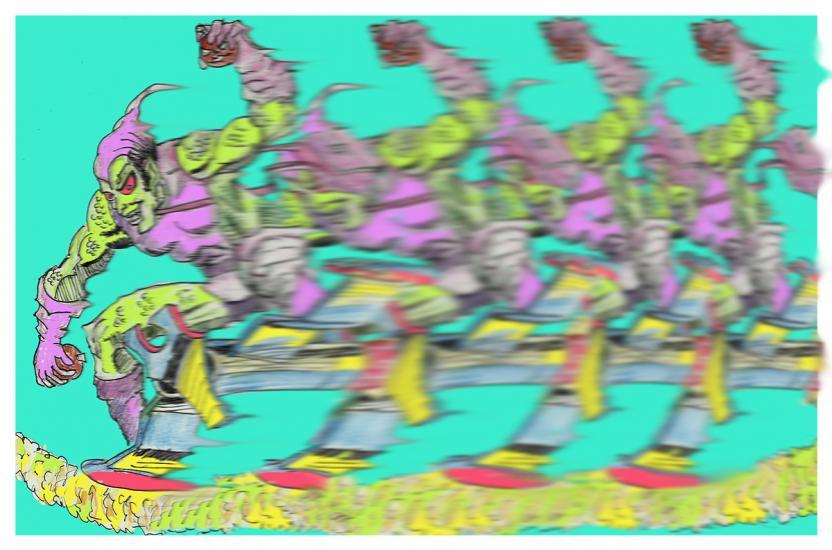 Green Goblin at speed