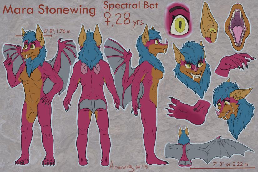 Mara Stonewing Reference Sheet