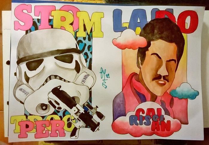 Stormtrooper & Lando