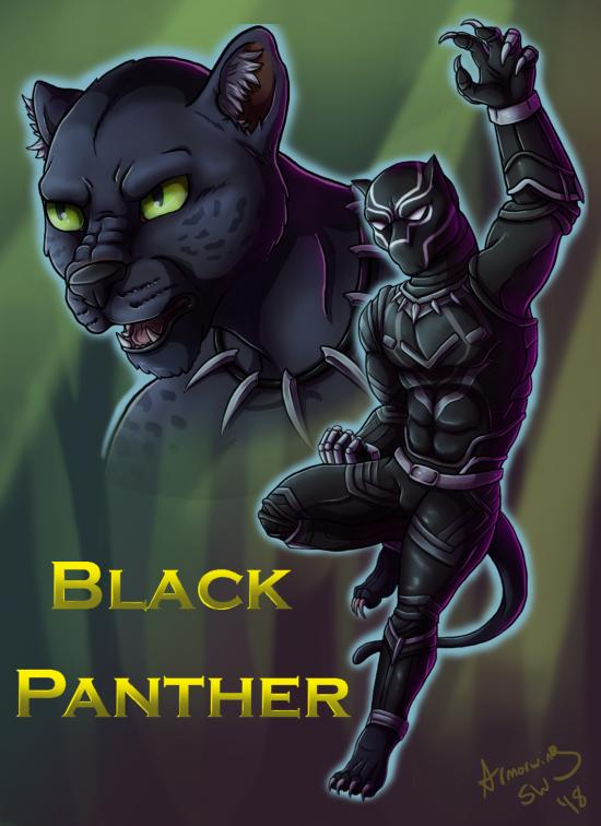 Feral Heroes Project: Black Panther