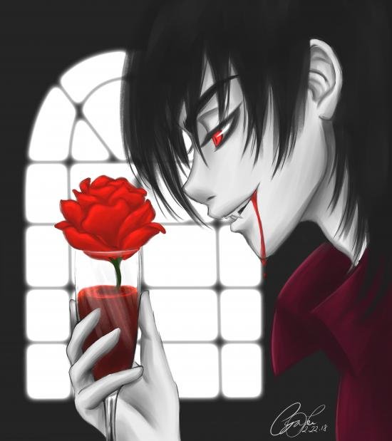 A Vampire's Favorite Drink
