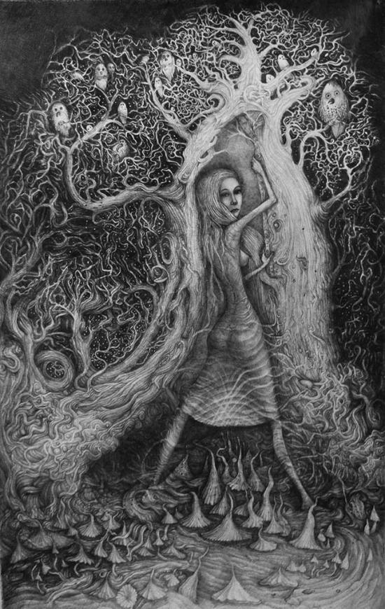 Forest Fairy. pencil 2018.