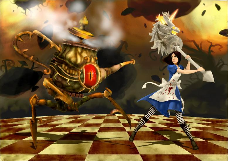Alice vs Eyepot