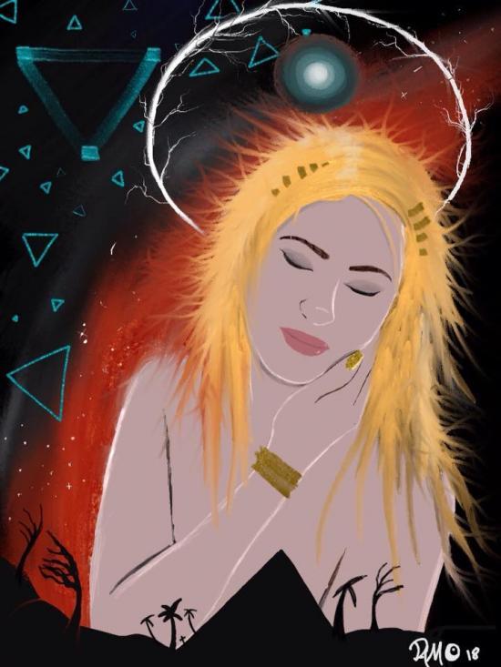 Sleeping Goddess