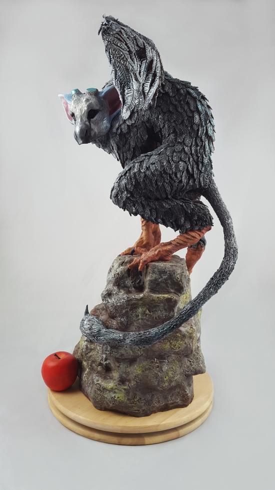 Trico The Last Guardian statue complete