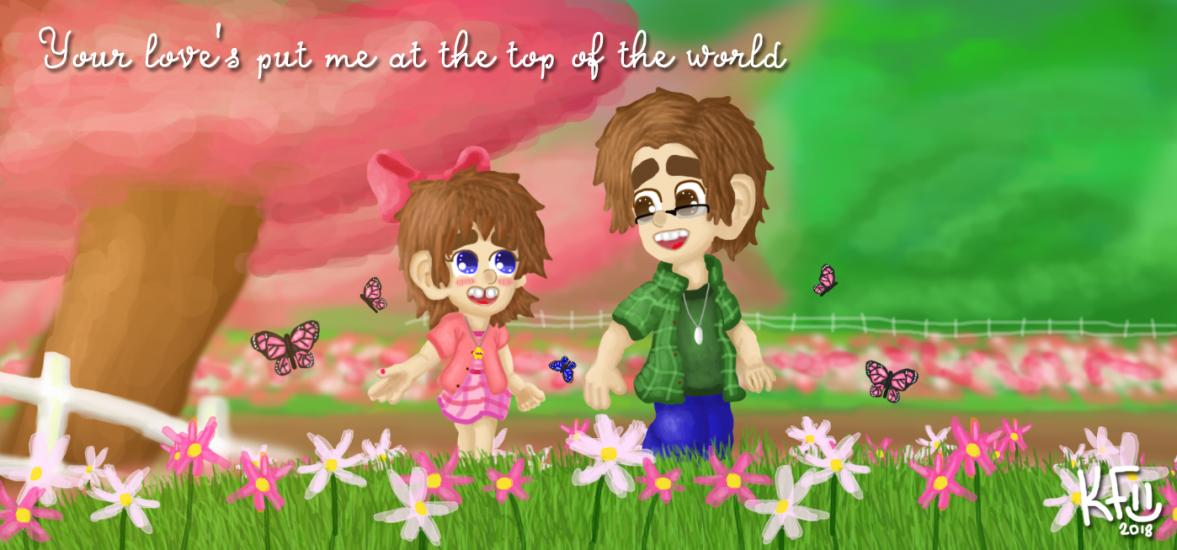 A Beautiful Spring Day Mason and Leela