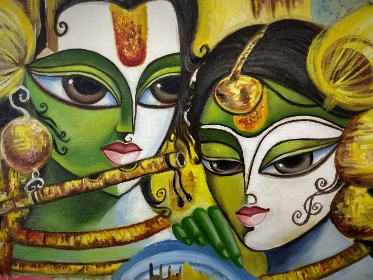 Radha krishna love