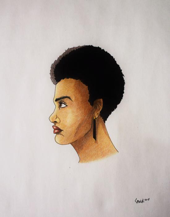 Afroamerican Girl