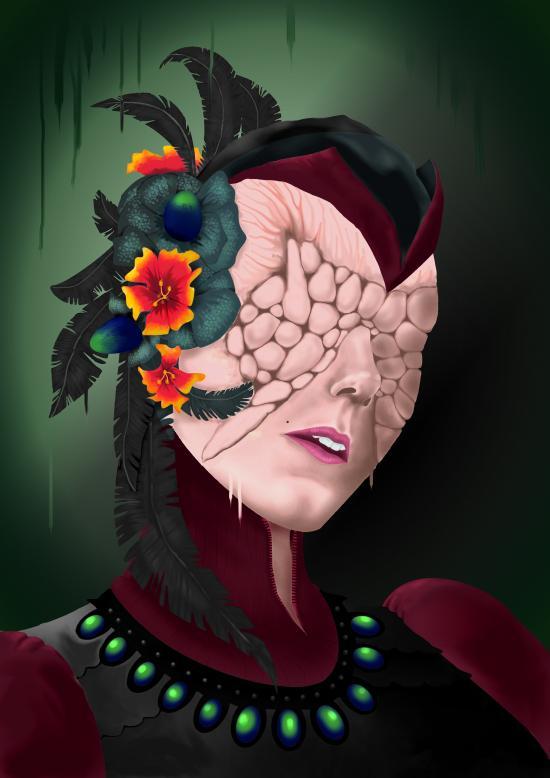 Ornamental Head