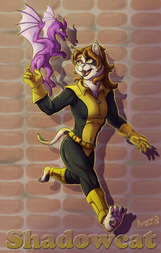 Feral Heroes Project: Shadowcat