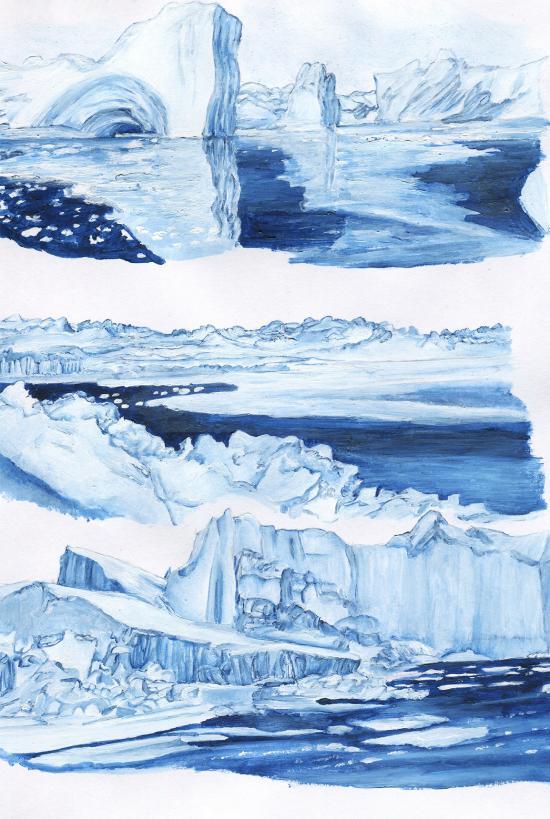 Northern Glaciers Concept