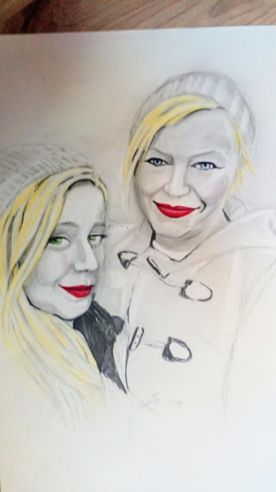 Sketch of my friends