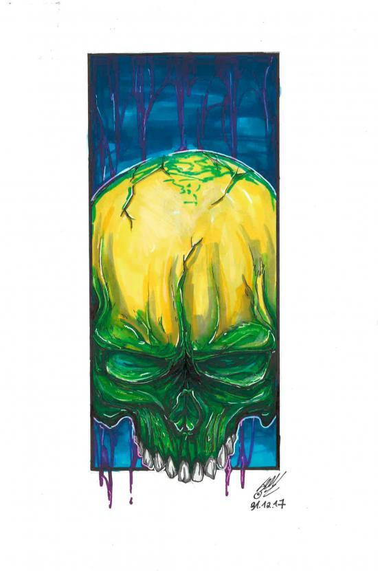 Skull_Green
