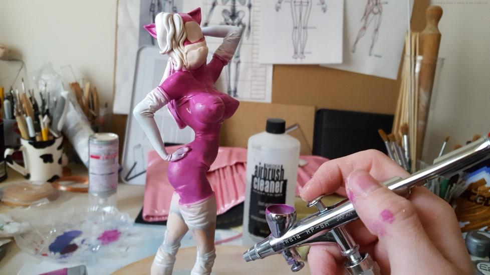 Jessica Rabbit alternative version statue