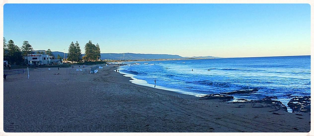 North Wollongong Beach - Panorama