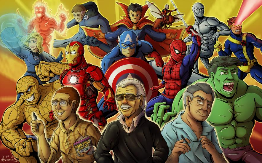 Thanks for the Adventures - Marvel Tribute