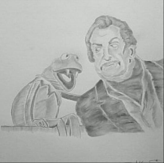 Vincent and Kermit, Cody Marmon, 2019