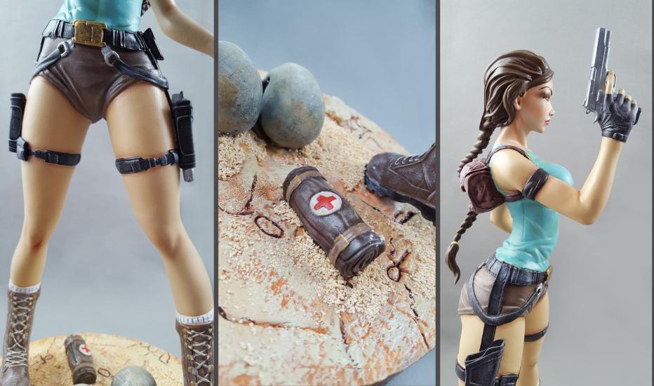 Lara Croft (Tomb Raider 1996)  resin statue