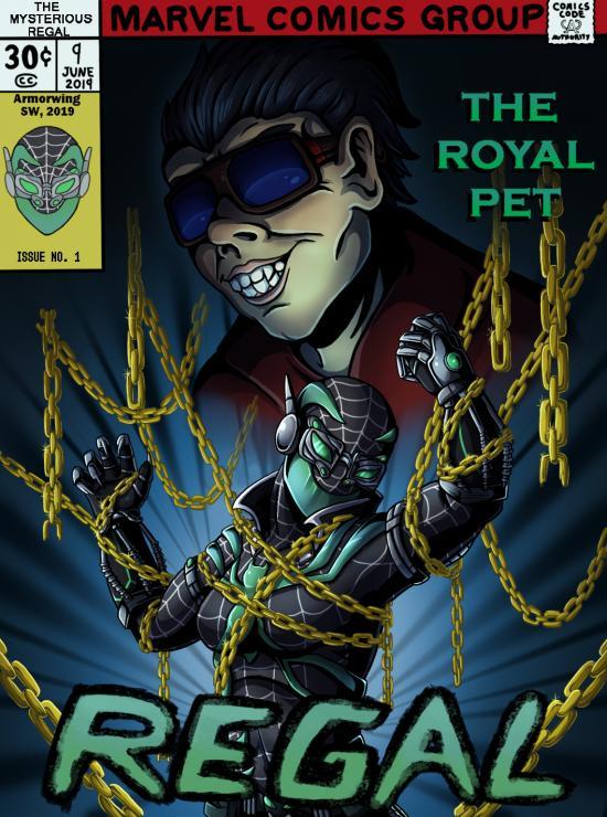 REGAL: The Royal Pet (Comic Cover)