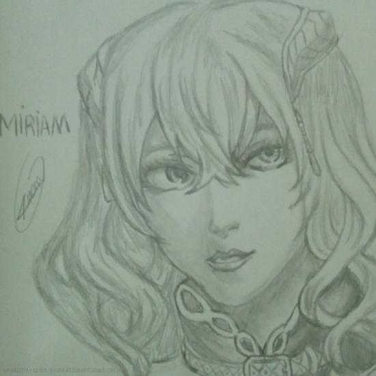 Miriam from bloodstained