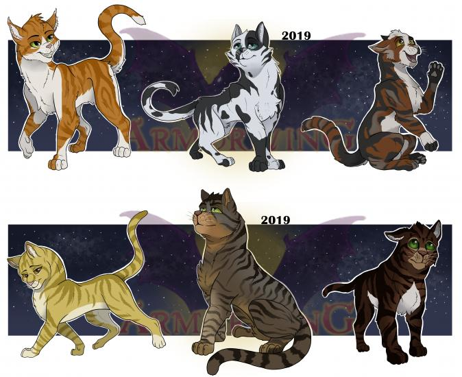 CATS Character Design: Misc. Adults