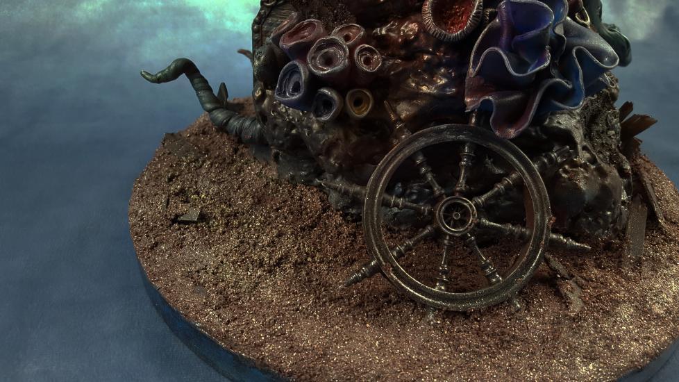 Death's Siren resin statue5