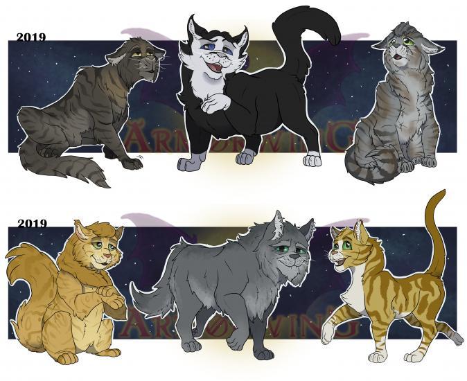 CATS Character Design: Elder Cats