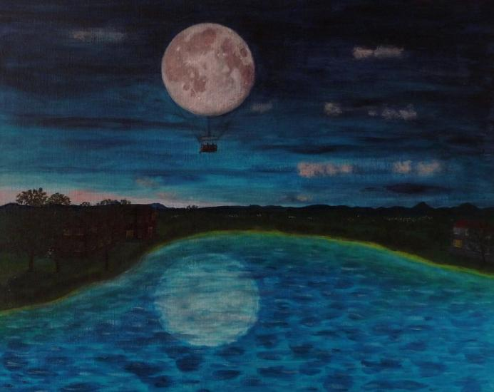 The Moon is a Balloon