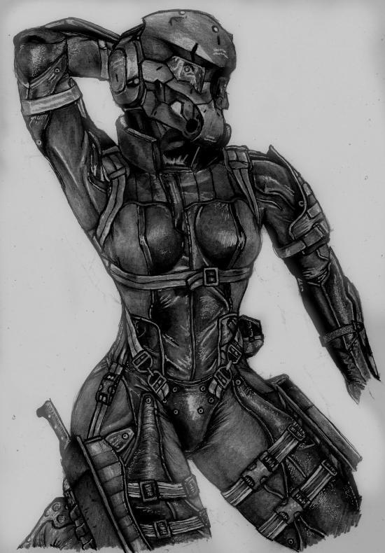 Metal Gear Solid 4 - Haven Trooper.