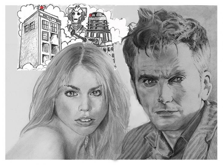 The Doctor Enermies and that girl