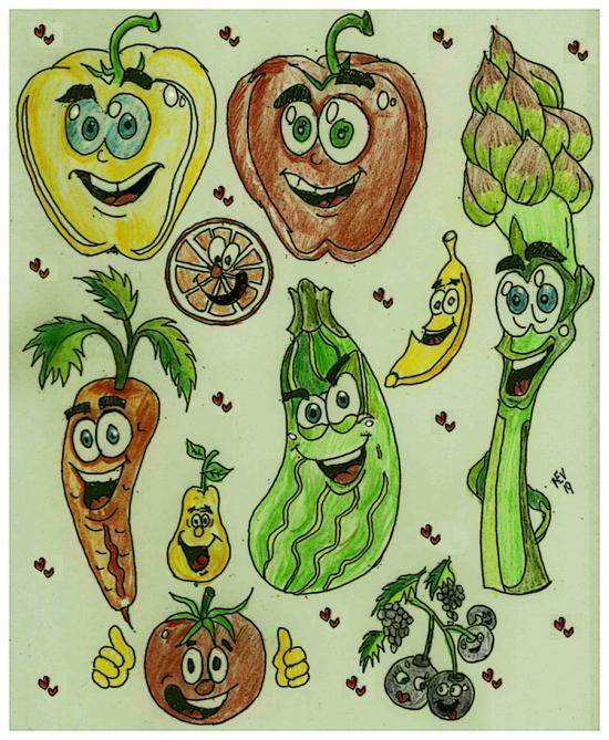 Healthy food..