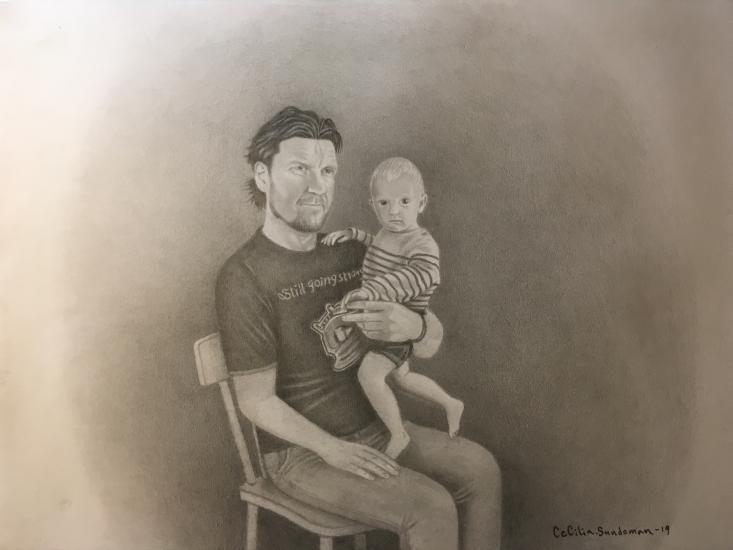 Man with his grandchild