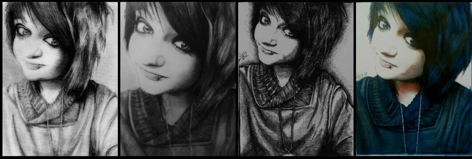 Drawing progress (Lucy)