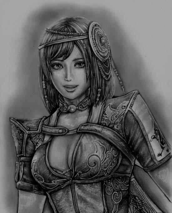 Dynasty Warriors 8 - Bao Sanniang