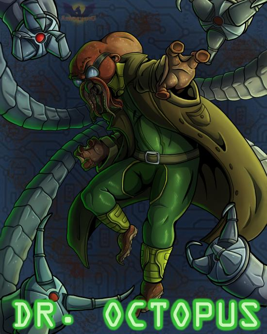 Feral Heroes Project: Dr. Octopus