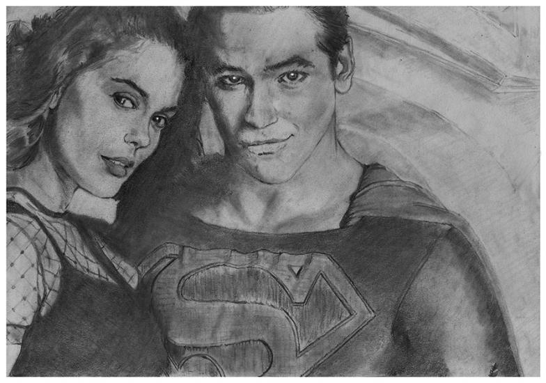 Superman and his main squeeze