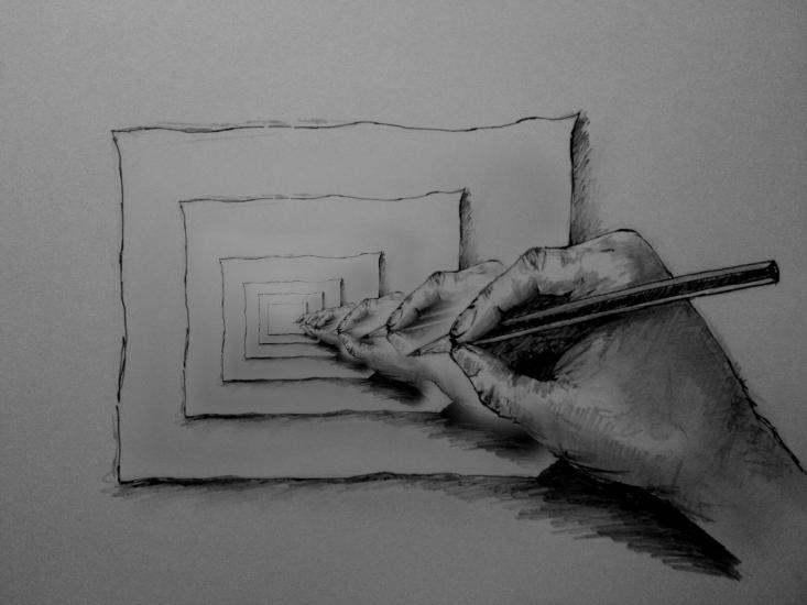Hand Drawing.