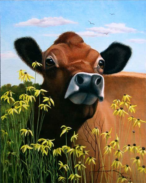 There Lives A Cow