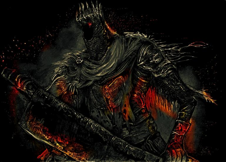 Dark Souls 3 - Yhorm the giant (colour)