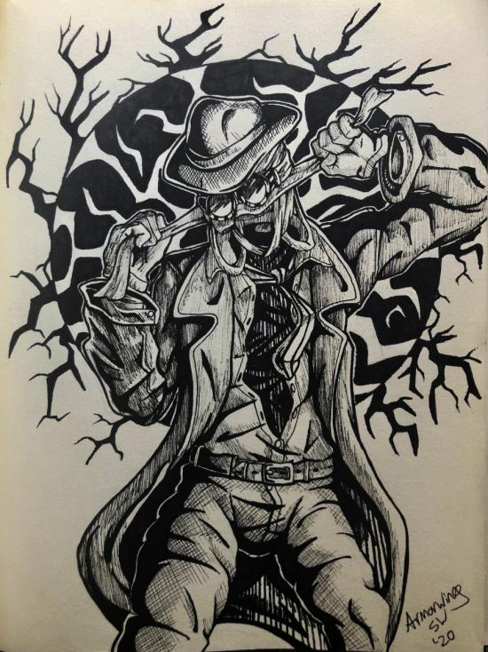 Invisible Man Sketch
