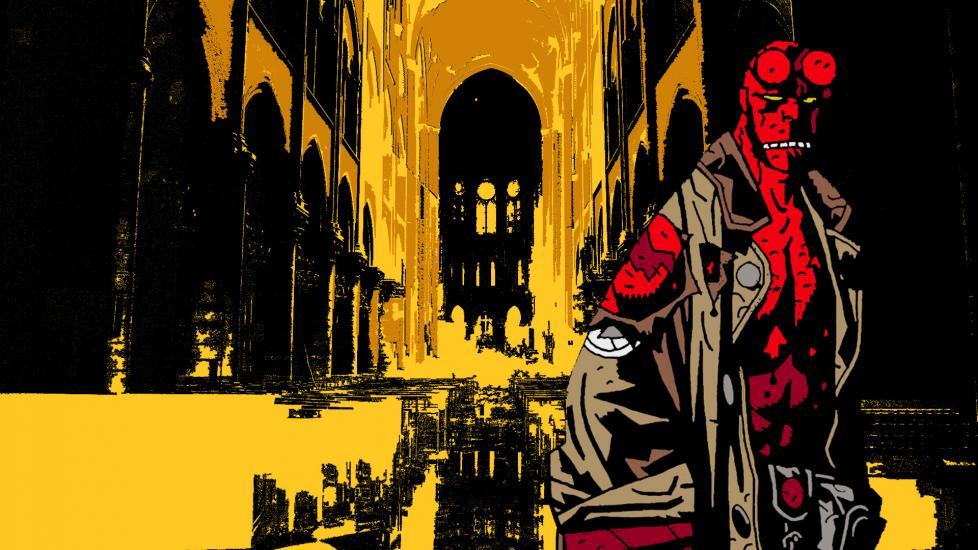 Wallpapper Hellboy