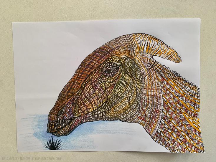 WIP - Duck Billed Dinosaur