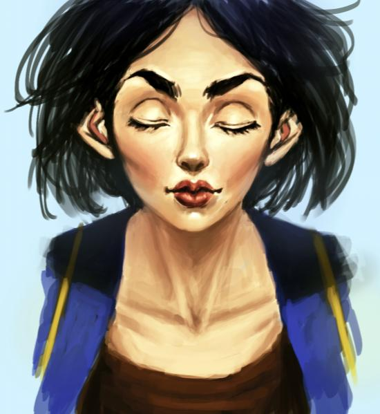 Nora -- Portrait
