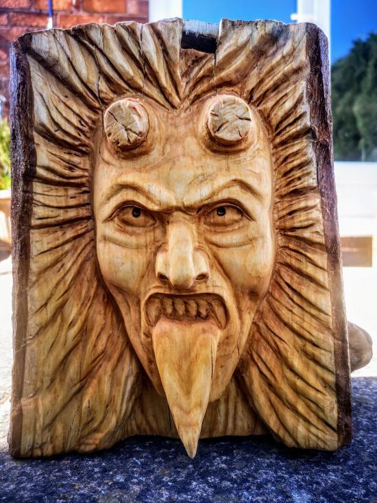 Lock down carving No7