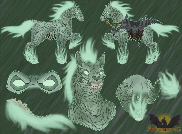 Darksiders Headcanons: Despair the PaleSteed