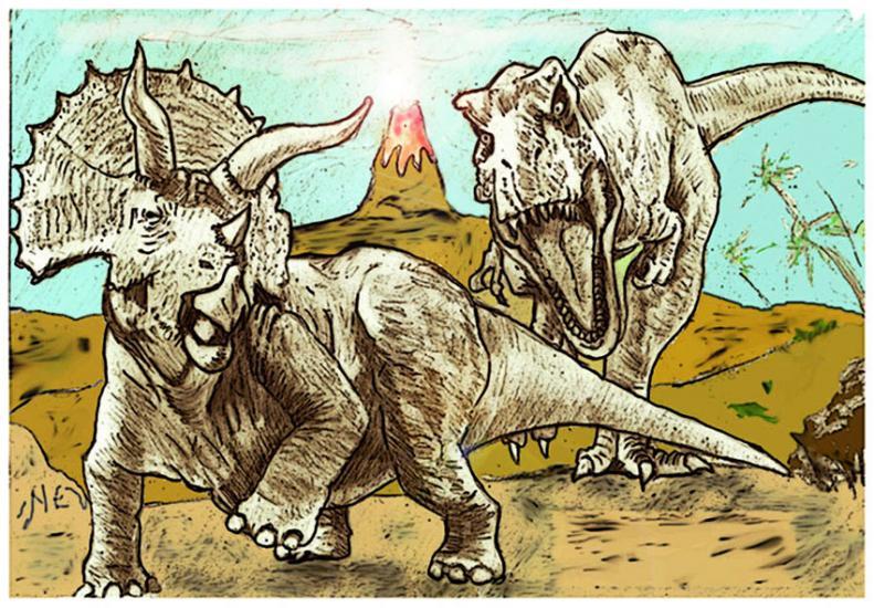 Rex attacks in color
