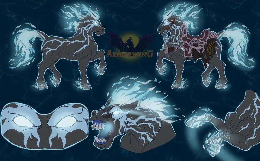 Darksiders Headcanons: Rampage the Black Steed