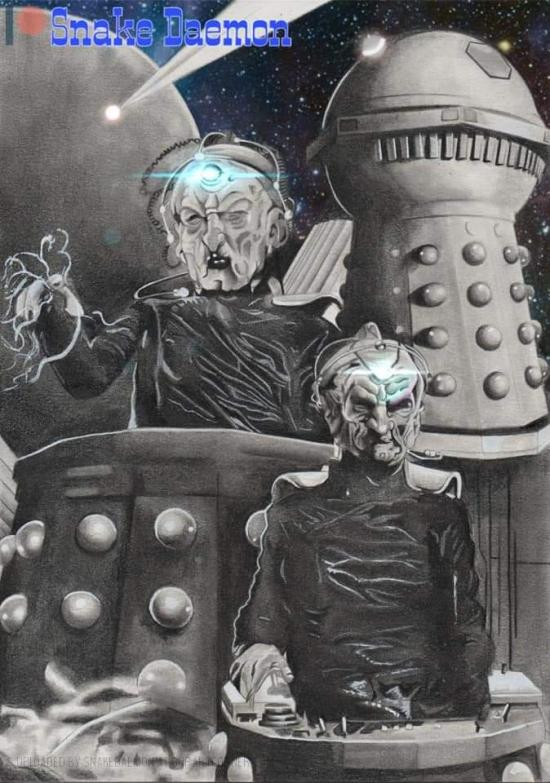 lord and creator of the dalek race - edited