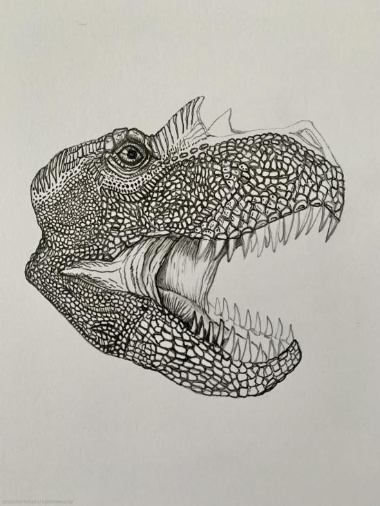 WIP - Fierce Dino